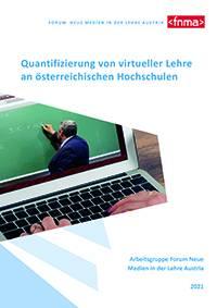 Cover Whitepaper Quantifizierung von virtueller Lehre an österreichischen Hochschulen
