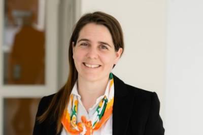Bild der Vortragenden Sandra Schön